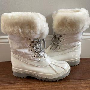 White Coach Leonora Winter Boots